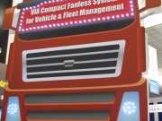 VIA Compact Fanless System for Vehicle & Fleet MAnagement Display