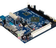 VIA EPIA-M860 Mini-ITX Board - Angle