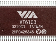 VIA_Tahoe_VT6103_Ethernet_PHY_Transceivers_chip_image
